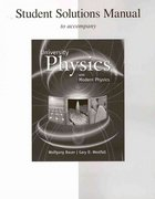 Student Solutions Manual for University Physics with Modern Physics 1st edition 9780073368023 0073368024