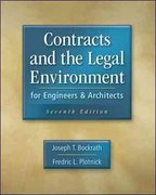 Contracts and the Legal Environment for Engineers and Architects 7th edition 9780073397849 0073397849