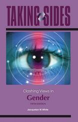 Taking Sides: Clashing Views in Gender 5th edition 9780078049941 0078049946