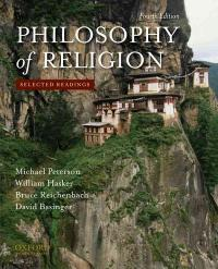 Philosophy of Religion 4th Edition 9780195393590 0195393597
