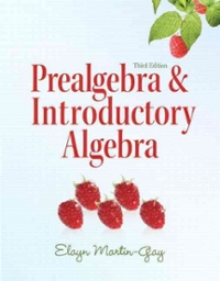 Prealgebra & Introductory Algebra 3rd edition 9780321644909 0321644905