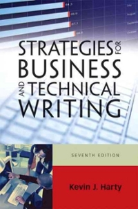 Strategies for Business and Technical Writing 7th edition 9780205741915 0205741916