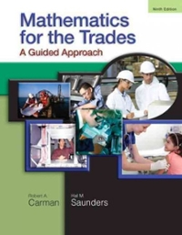 Mathematics for the Trades 9th edition 9780136097082 0136097081