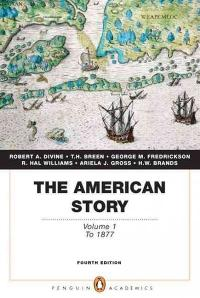 American Story, The: Volume 1 (Penguin Academics Series) 4th edition 9780205728954 0205728952