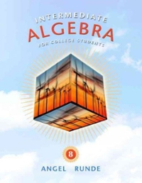 Intermediate Algebra for College Students 8th edition 9780321620910 0321620917