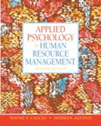 Applied Psychology in Human Resource Management 7th edition 9780136090953 0136090958