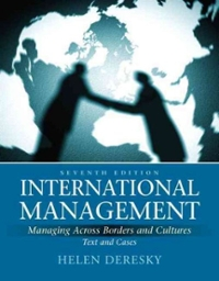 International Management 7th Edition 9780136098676 0136098673