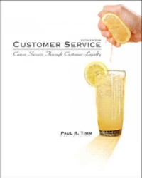 Customer Service 5th Edition 9780135063972 0135063973