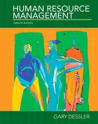 Human Resource Management 12th edition 9780136089957 013608995X