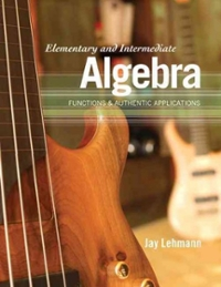 Elementary and Intermediate Algebra 1st edition 9780321621078 0321621077