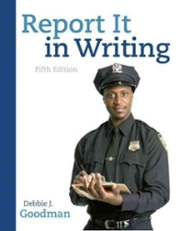 Report It in Writing 5th edition 9780136093558 0136093558