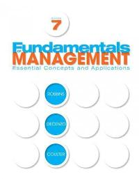 Fundamentals of Management 7th edition 9780136109822 0136109829
