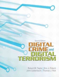 Digital Crime and Digital Terrorism 2nd edition 9780137008773 0137008775
