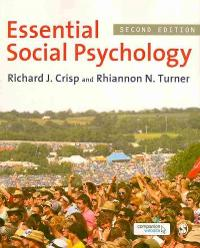 Essential Social Psychology 2nd edition 9781849203869 1849203865