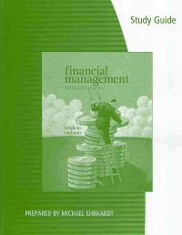 Study Guide for Brigham/Ehrhardt's Financial Management: Theory & Practice 13th Edition 9780538746625 0538746629