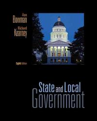 State and Local Government 8th edition 9780495802655 0495802654
