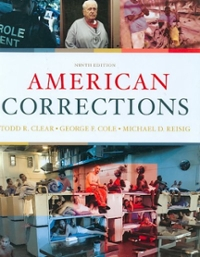 American Corrections 9th edition 9780495807483 0495807486