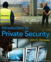 Introduction to Private Security 2nd Edition 9781111789893 1111789894