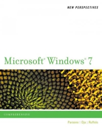 New Perspectives on Microsoft Windows 7 1st Edition 9780538746007 0538746009