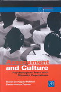 Assessment and Culture 1st Edition 9780122904516 0122904516