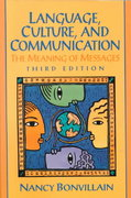 Language, Culture and Communication 3rd edition 9780130104298 0130104299