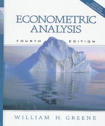 Econometric Analysis 4th Edition 9780130132970 0130132977