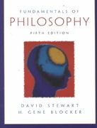 Fundamentals of Philosophy 5th edition 9780130308962 013030896X