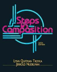 Steps in Composition 6th edition 9780130427489 0130427489