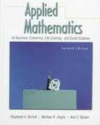 Applied Mathematics for Business, Economics, Life Sciences and Social Sciences 7th edition 9780130831200 0130831204