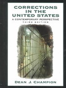 Corrections in the United States 3rd edition 9780130867612 0130867616