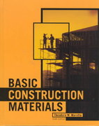Basic Construction Materials 6th edition 9780130896254 013089625X