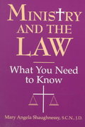Ministry and the Law 1st Edition 9780809137893 0809137895