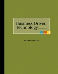 Business Driven Technology with Premium Content Card + Connect Plus 4th Edition 9780077398019 0077398017