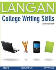 College Writing Skills 8th edition 9780073371658 0073371653