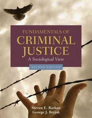 Fundamentals of Criminal Justice 2nd edition 9780763754242 0763754242