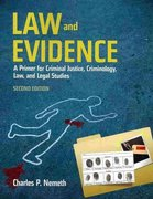 Law and Evidence 2nd Edition 9780763766610 0763766615