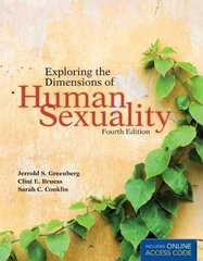 Exploring The Dimensions Of Human Sexuality 4th Edition 9780763776602 0763776602