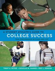 A Student Athlete's Guide to Success 3rd Edition 9780495570530 0495570532