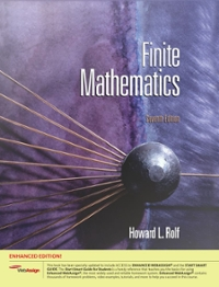 Finite Mathematics, Enhanced Edition (with Enhanced WebAssign with eBook for One Term Math and Science Printed Access Card) 7th edition 9780538497329 0538497327