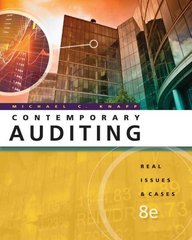 Contemporary Auditing 8th edition 9780538466790 0538466790