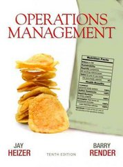 Operations Management 10th Edition 9780136119418 0136119417