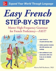 Easy French Step-by-Step 1st Edition 9780071642217 0071642218