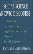 Social Science as Civic Discourse 0 9780226076249 0226076245