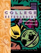 College Keyboarding Corel WordPerfect 6.1/7 Word Processing 14th edition 9780538720038 0538720034