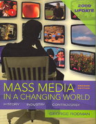 Mass Media in a Changing World 2009 2nd edition 9780077257309 0077257308