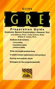 CliffsTestPrep GRE (Graduate Record Examination) 5th edition 9780822020738 0822020734