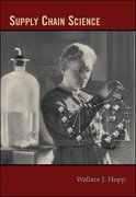 Supply Chain Science 1st edition 9780073403328 0073403326