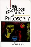 The Cambridge Dictionary of Philosophy 0 9780521483285 052148328X