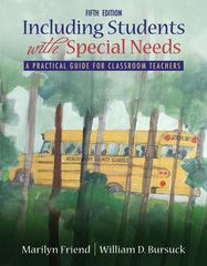 Including Students With Special Needs 5th edition 9780205571062 0205571069