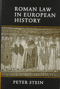Roman Law in European History 0 9780521643795 0521643791